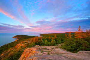 Gorham Mountain in Acadia National Park, Bar Harbor, Maine