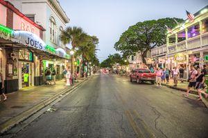 Duval Street at Night
