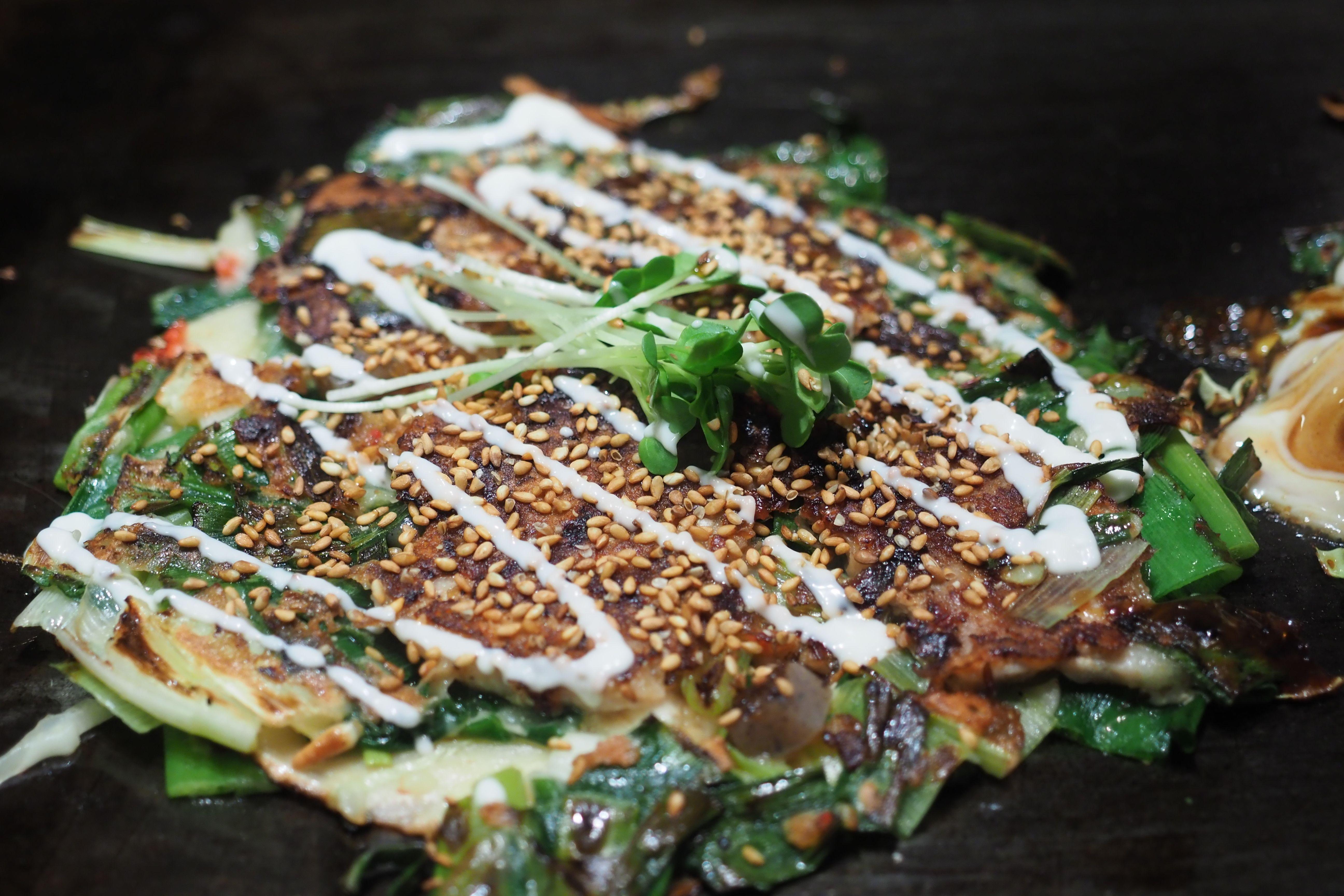 okonomiyaka in osaka