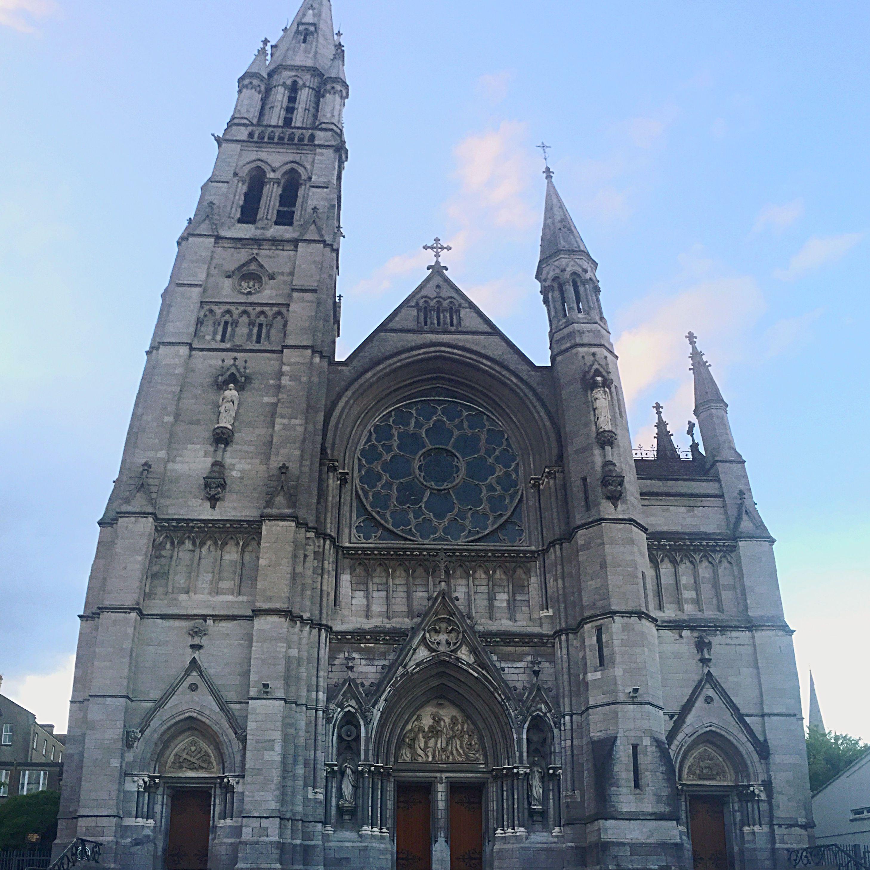 Facade of Saint Peters Church in Drogheda