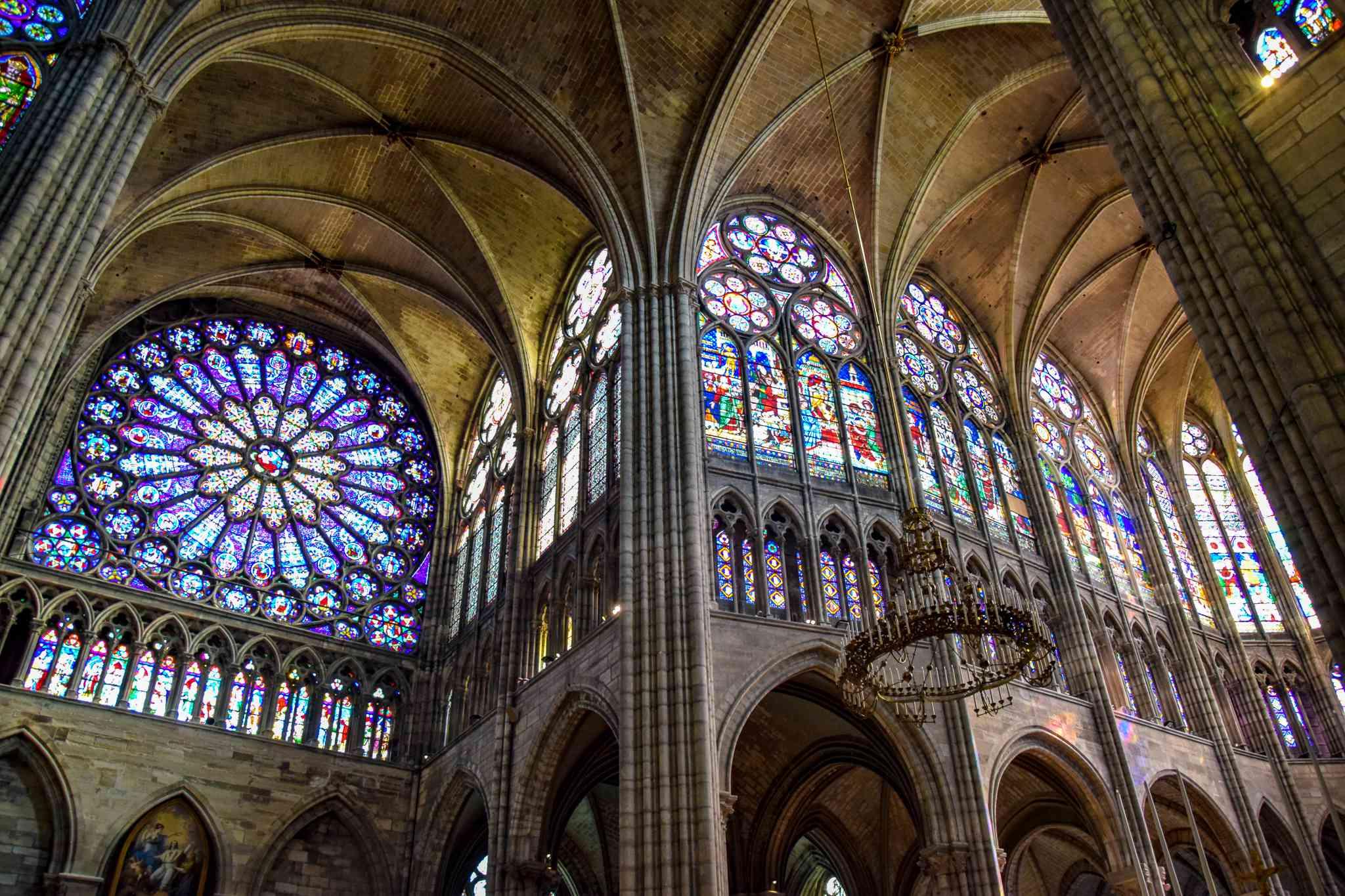Saint-Denis Basilica in Paris