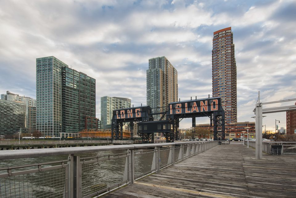 Gantry Plaza State Park, Long Island City, New York City
