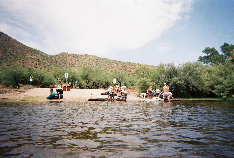Best Tubing in Arizona 2011 - Salt River Tubing - YouTube