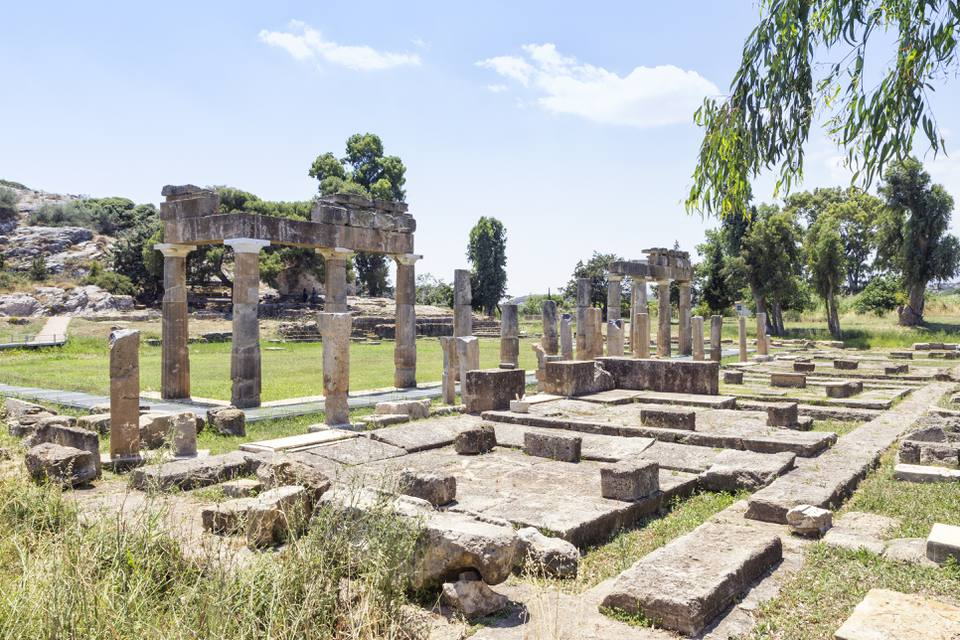 Greece, Attica, Brauron, sanctuary of Artemis