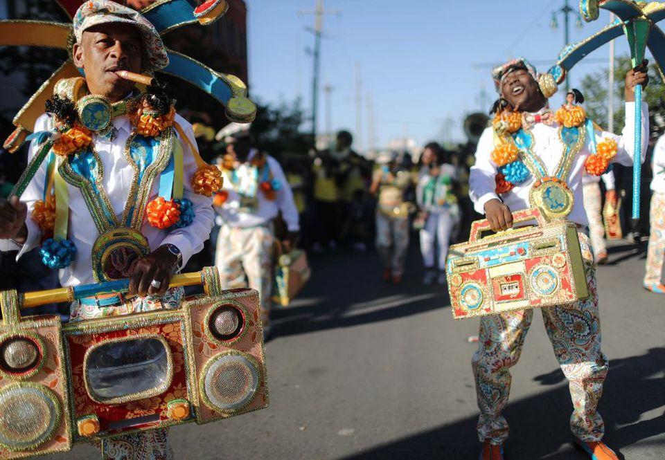 Revelers Parade, New Orleans, LA