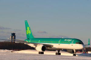 Aer Lingus Plane at Bradley International Airport
