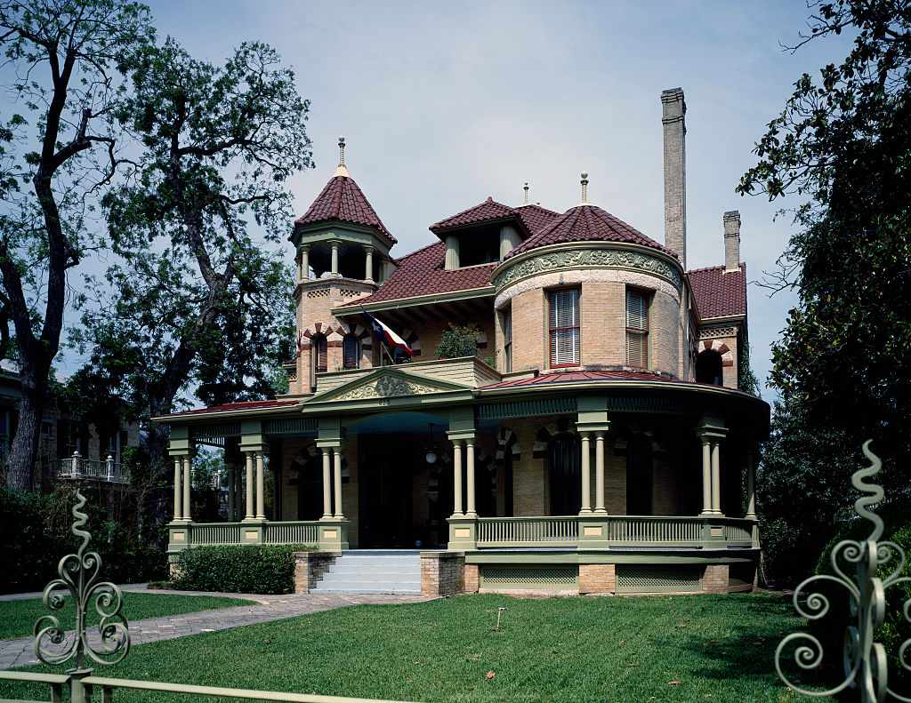 Mansion in the King William Historic District, San Antonio, Texas