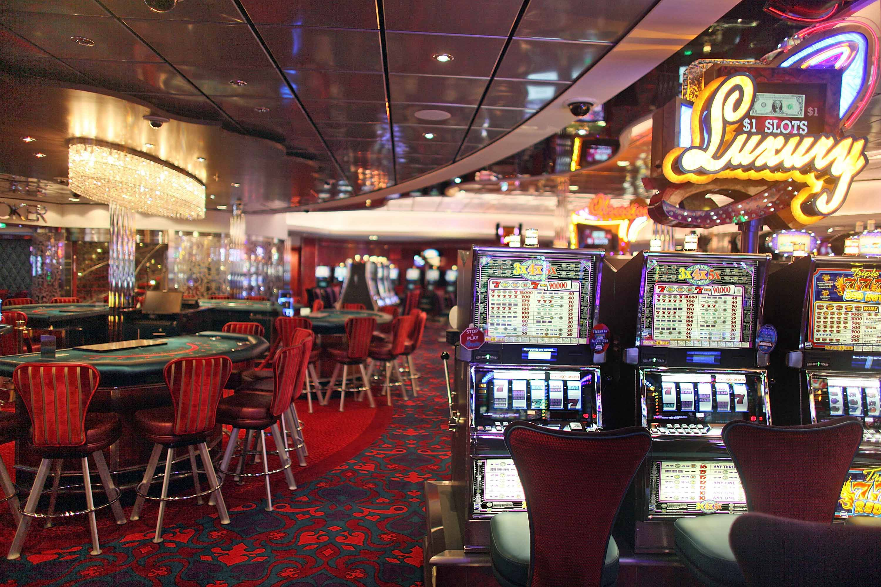 Casino charges can run up the cost of a cruise vacation.