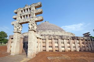 Sanchi Stupa in India