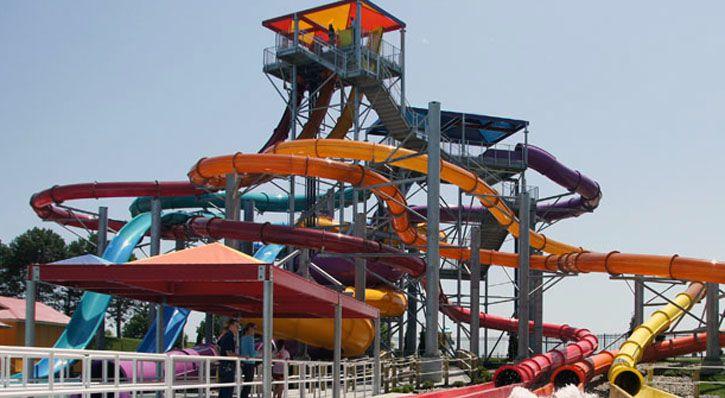 Oceans of Fun water park Missouri