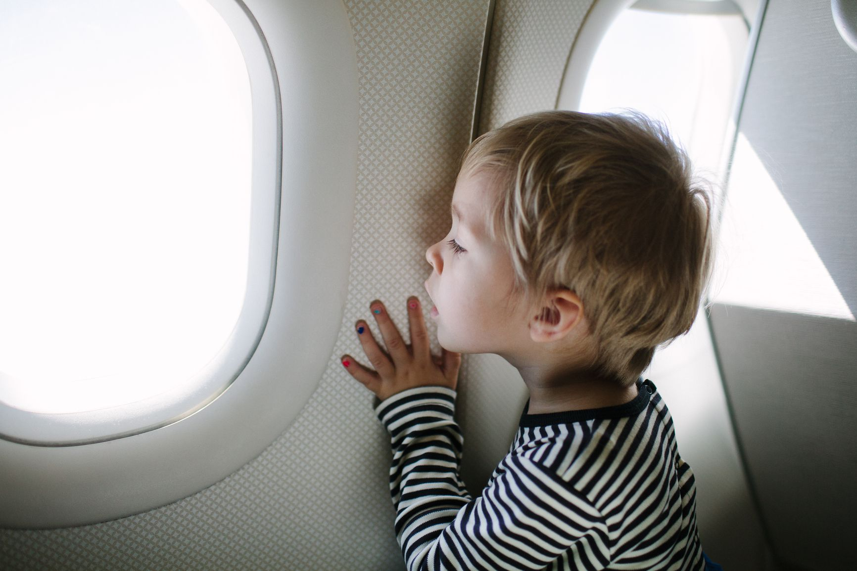 Tips for easy air travel with a child