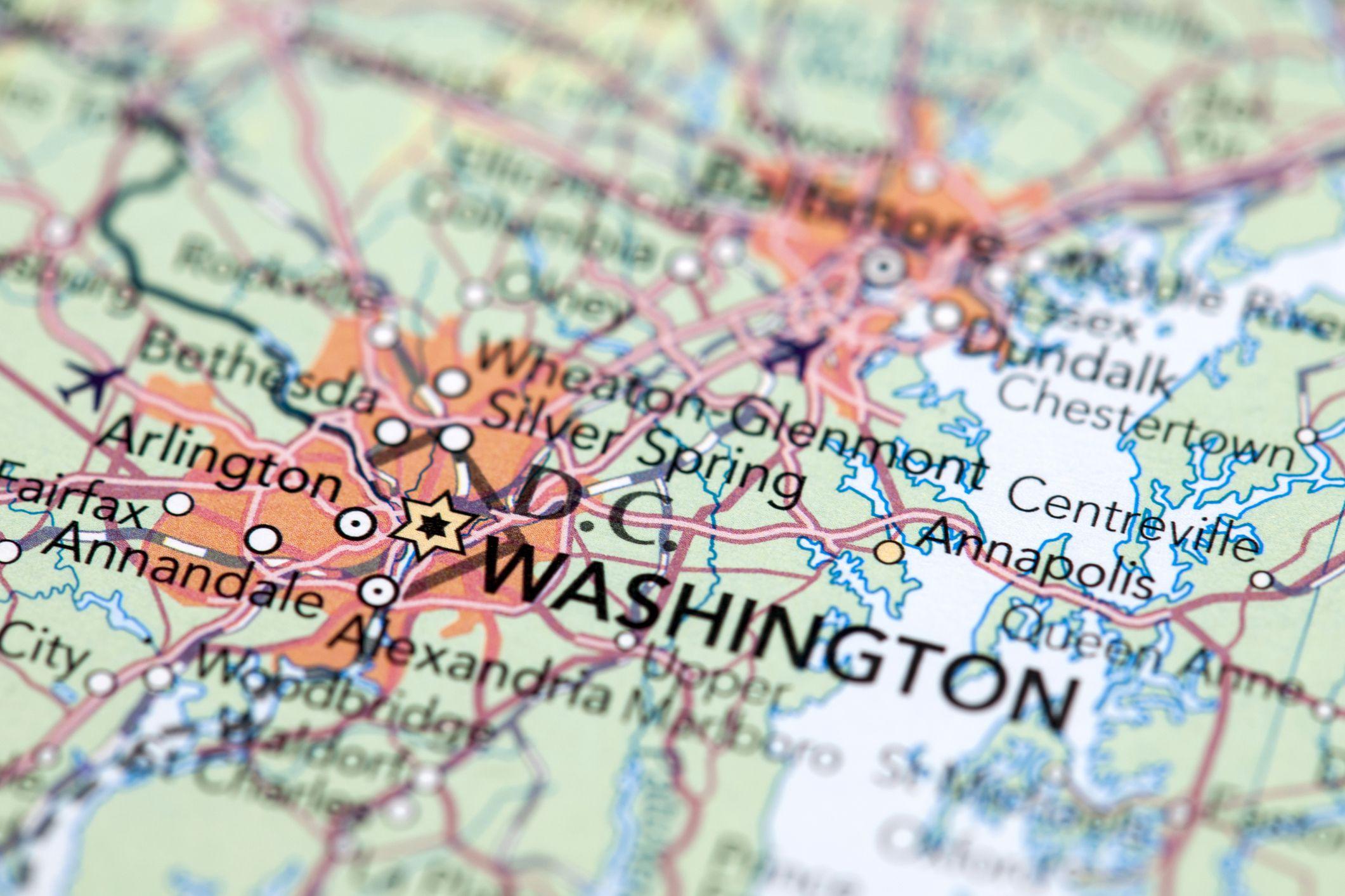 Washington DC Zip Codes By Neighborhood