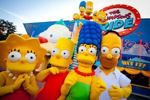The Simpsons Ride at Universal Studios Florida