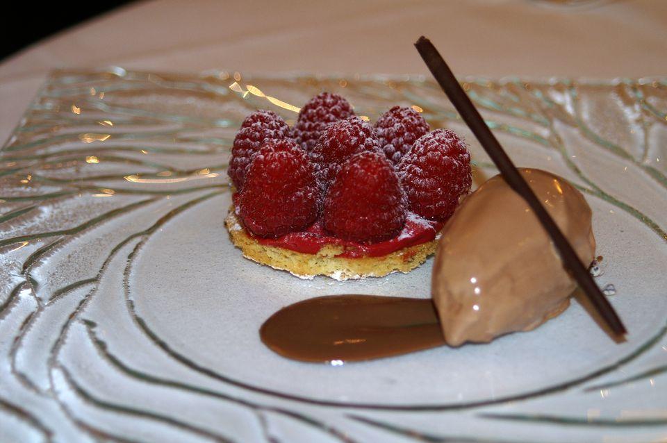 Autumn Raspberry Dessert