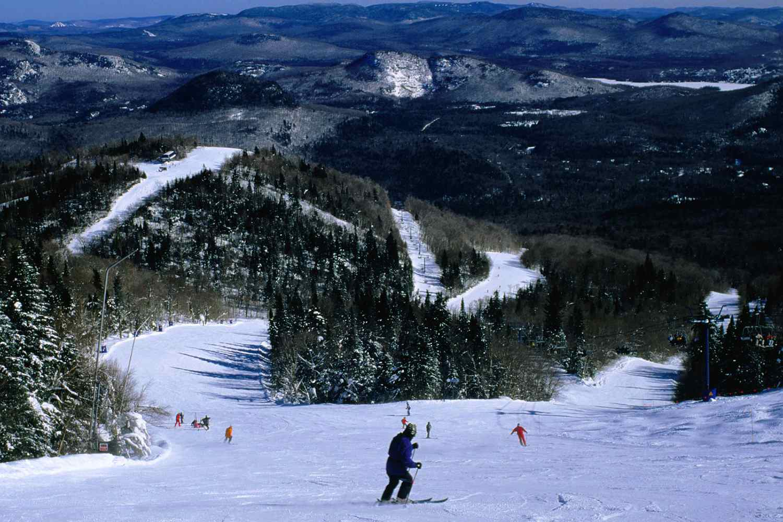 Quebec skiing