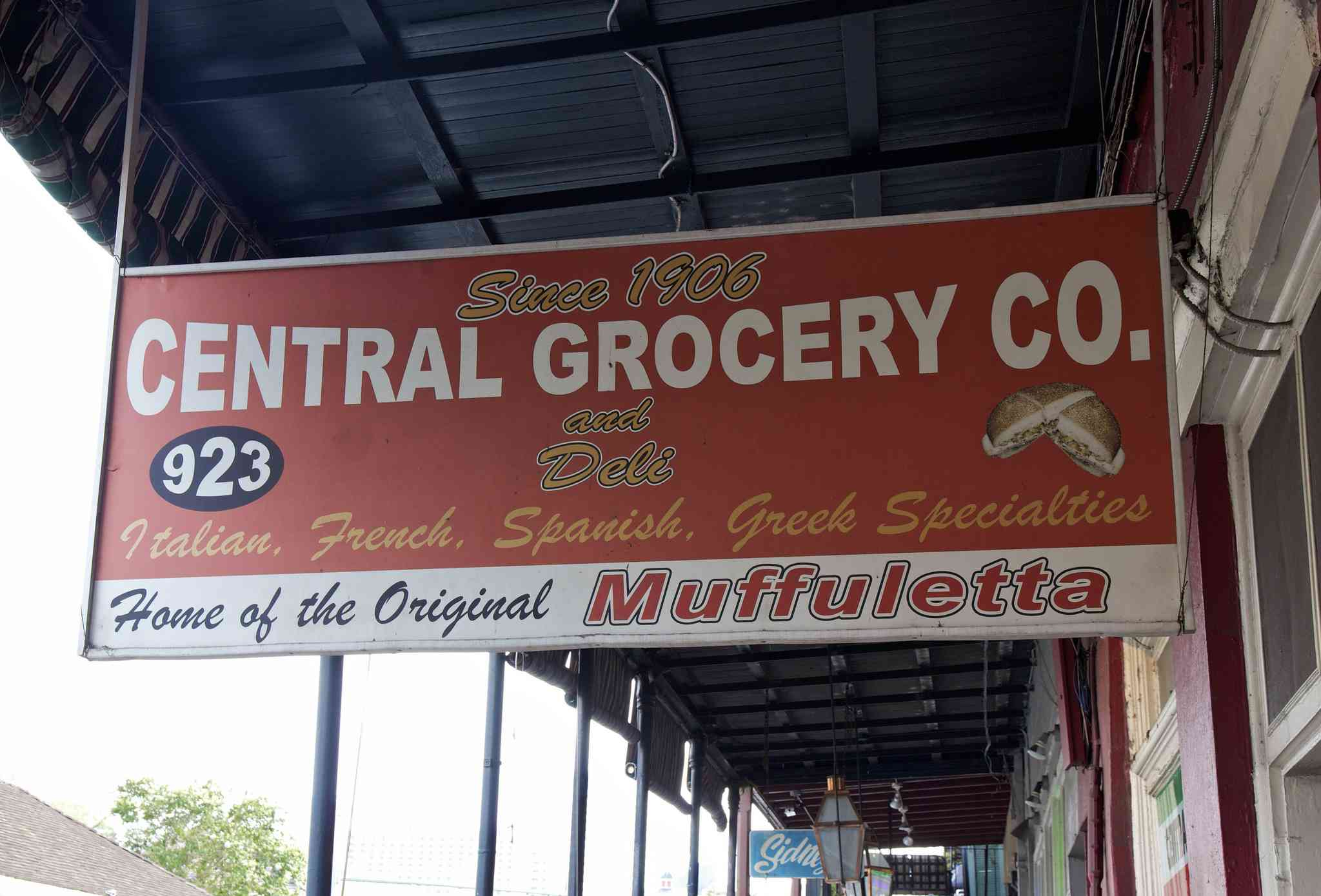 Central Grocery in New Orleans is Home of the Original Muffuletta
