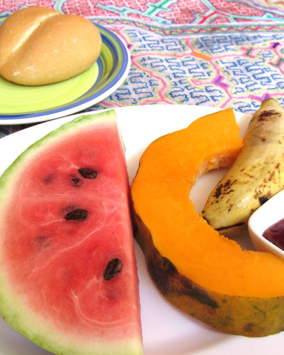 Breakfast in Peru