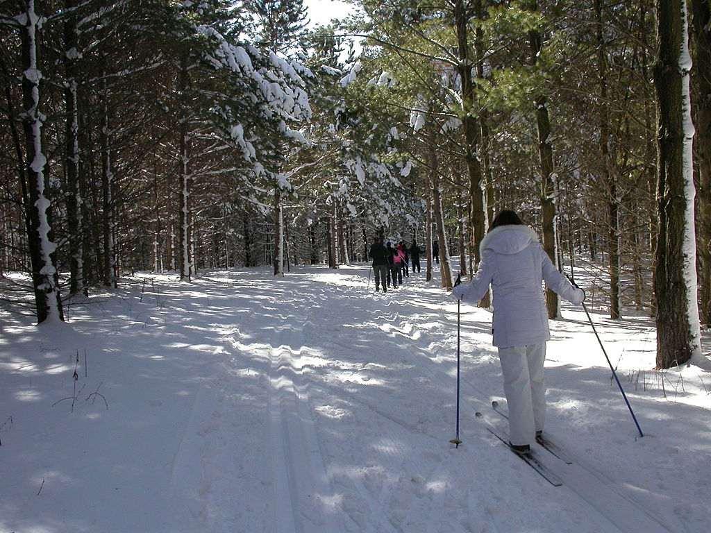 Esquí de fondo en Lebanon Hills