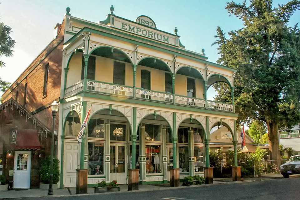1897 Emporium in Jamestown, California Gold Country