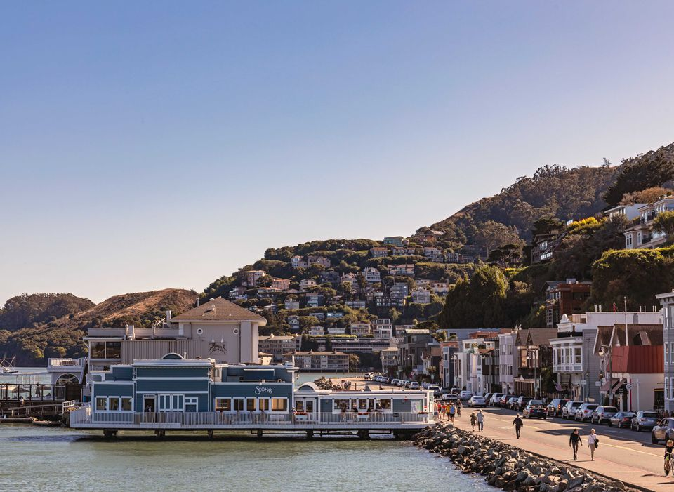 Sausalito near San Francisco