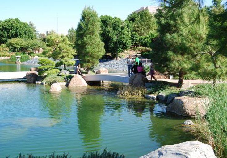 Japanese Friendship Garden In Phoenix Arizona