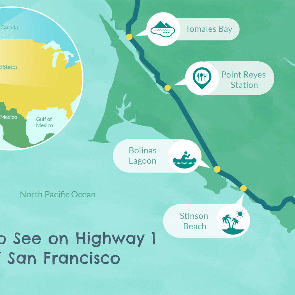 Road Trip: North from San Francisco on CA Highway 1