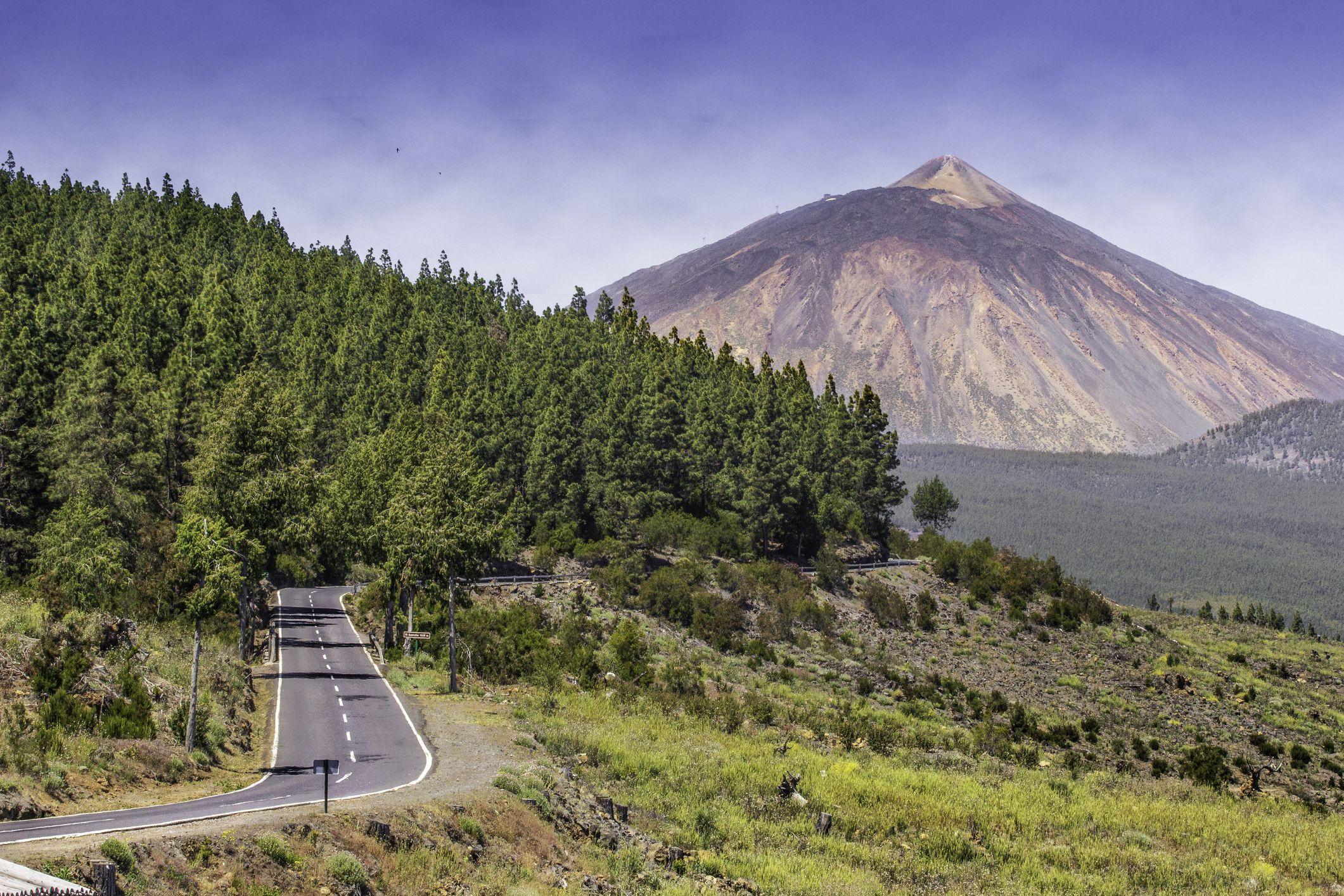Teide volcano at sunrise