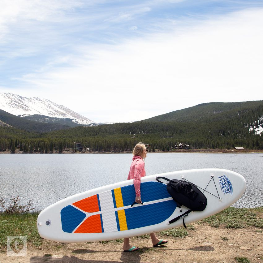 Bestway HydroForce White Cap Inflatable Stand-Up Paddleboard and Kayak