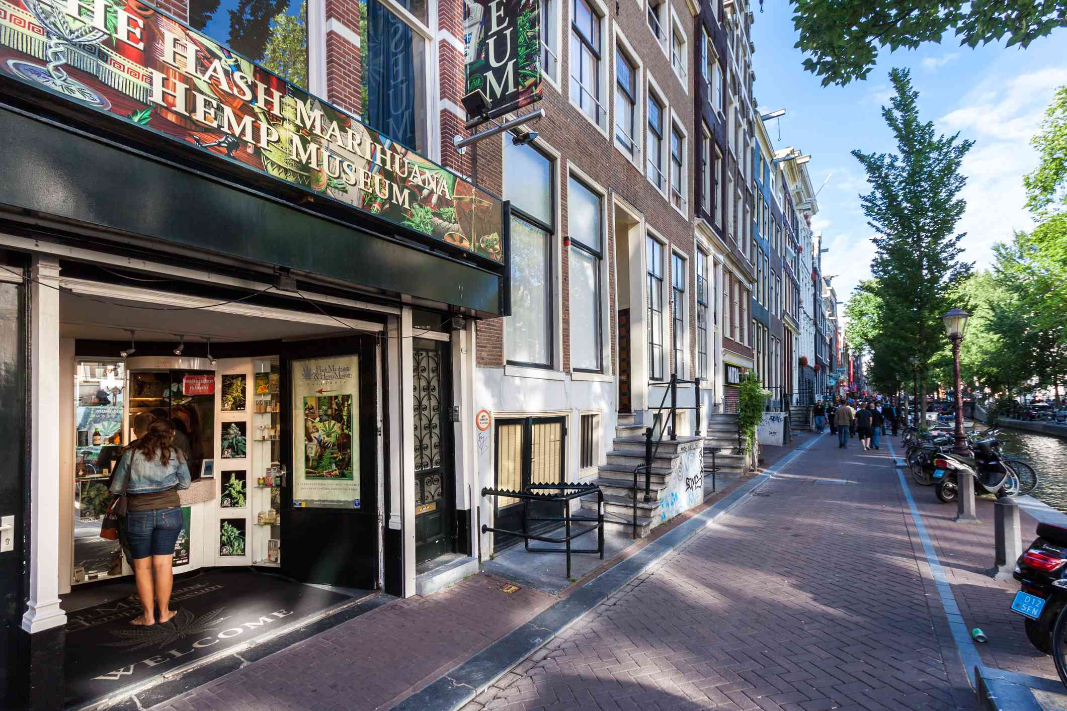 Hash, Marihuana & Hemp Museum in Amsterdam