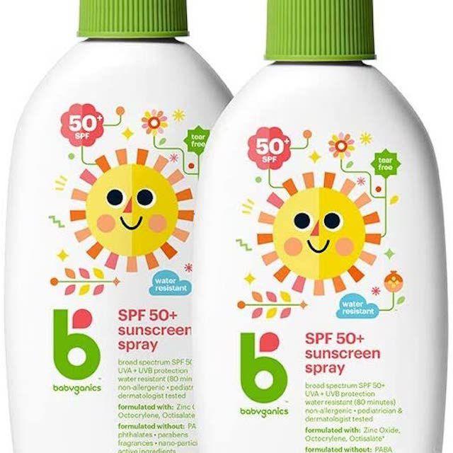 Babyganics Sunscreen Spray 50 SPF