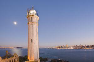 Alcatraz Island's Lighthouse