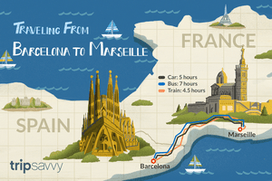 Getting from Barcelona to Marseille