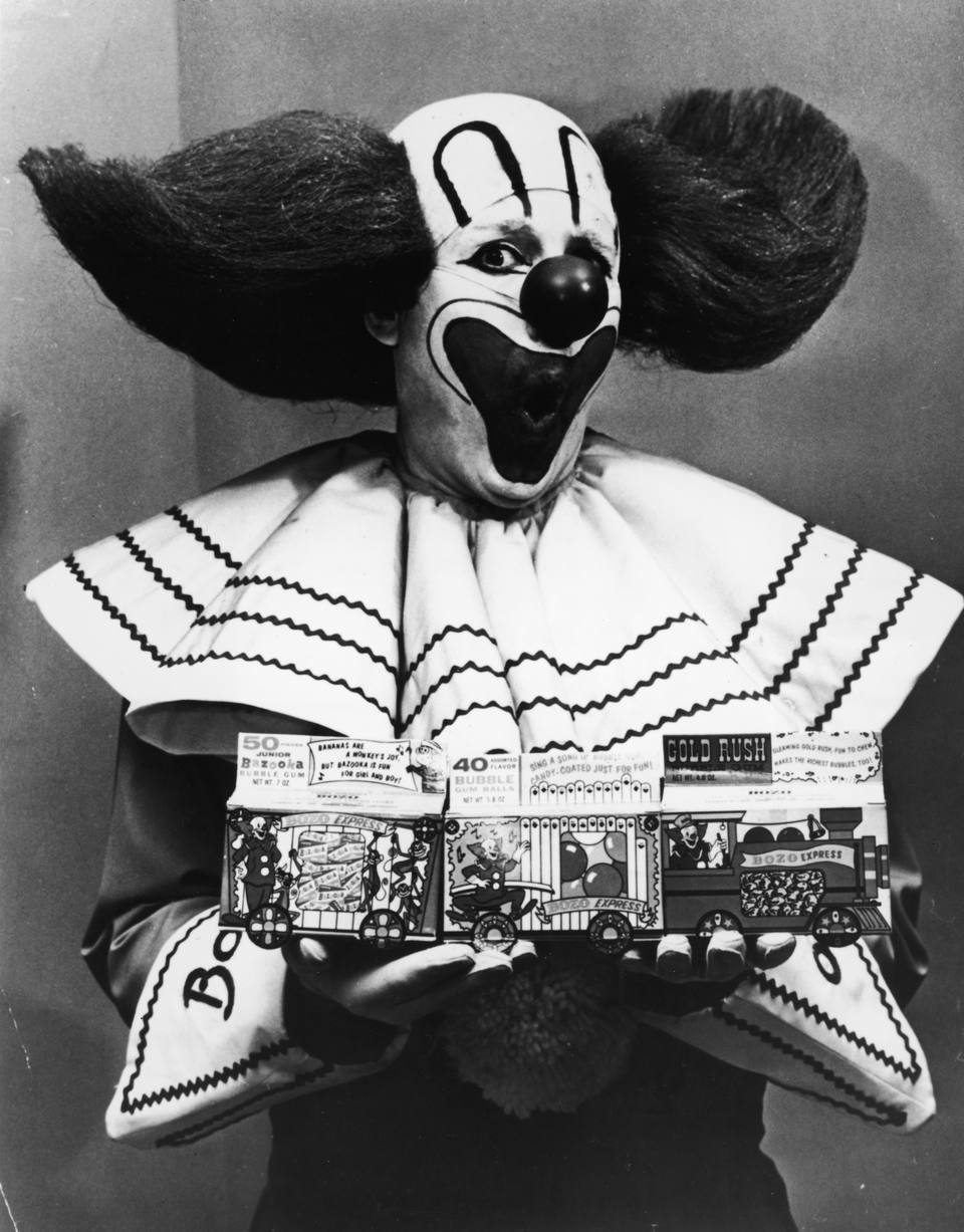 Bozo the Clown promo shot, 1965