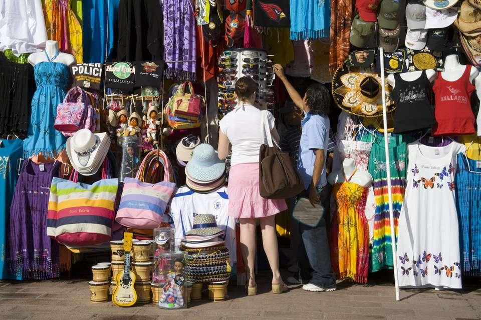 Shopping in Puerto Vallarta