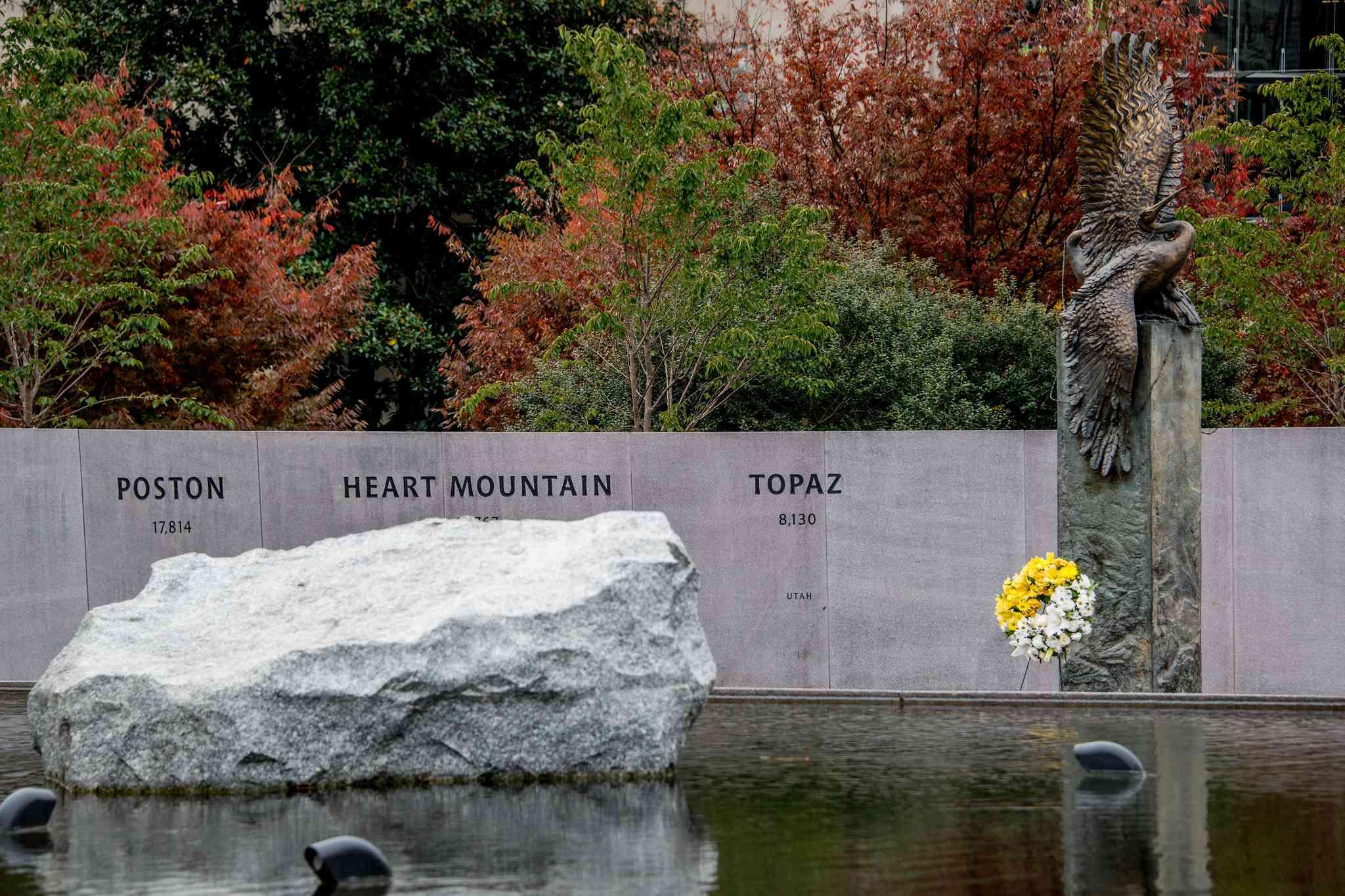 Japanese American Memorial to Patriotism During World War II