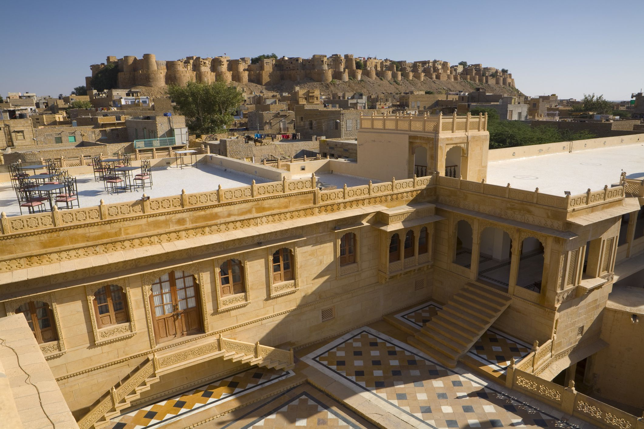 8 Best Hotels in Jaisalmer with Fort Views for All Budgets