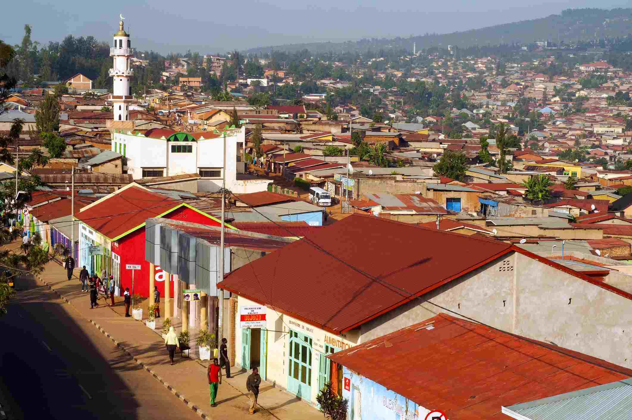 Nyamirambo Neighborhood, Kigali