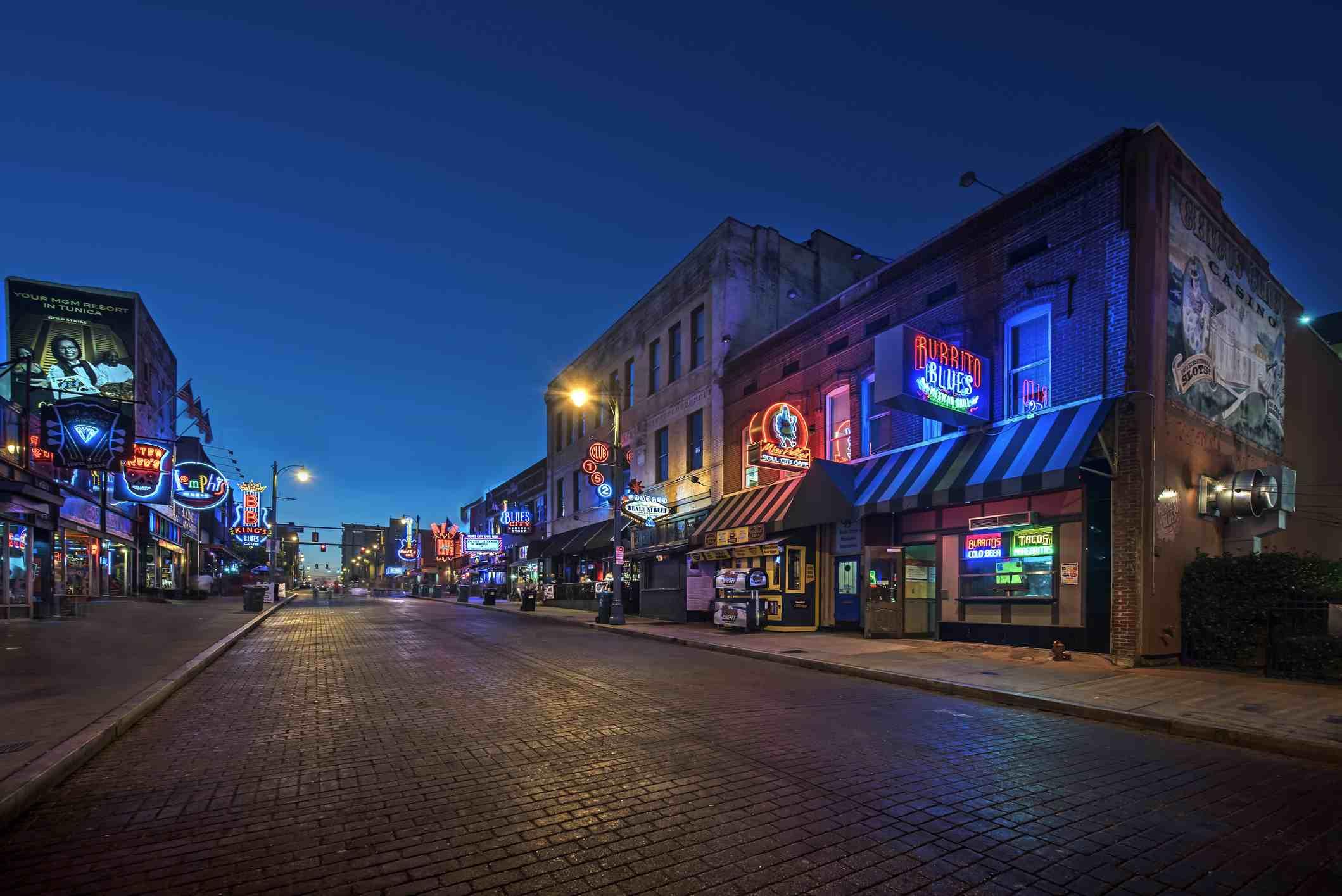 Memphis Ghosts Walking Tour