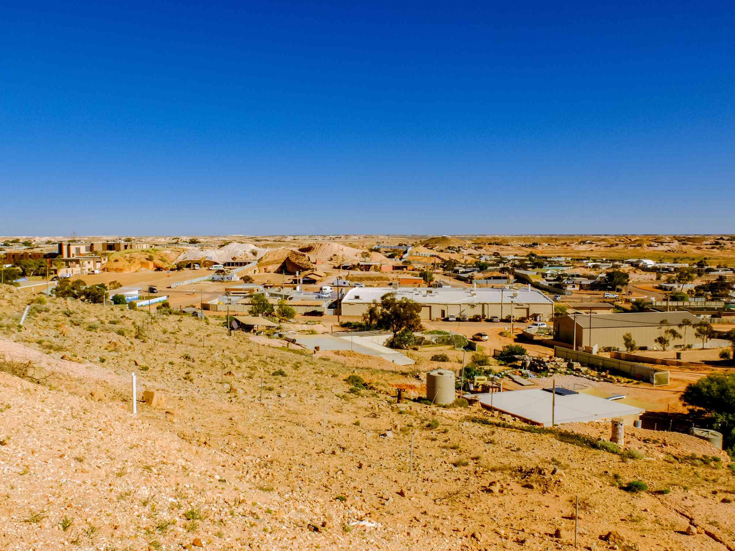 El desierto de Coober Pedy