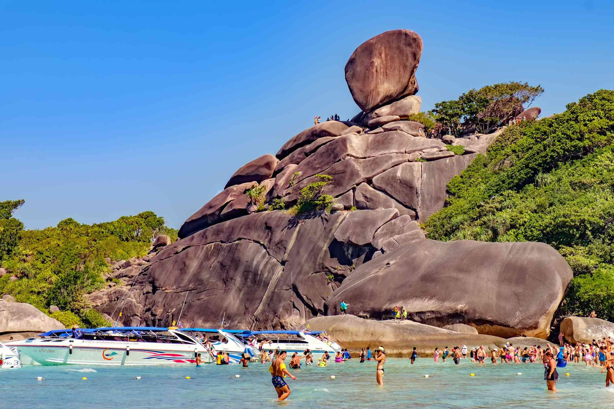 Sail Rock, Koh Similan, Thailand