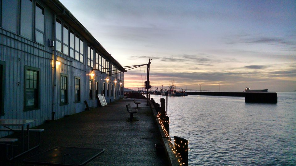 Pier 39, Astoria, Oregon