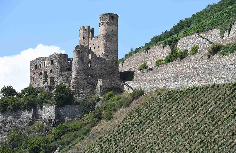 Rheinstein Castle in Rüdesheim am Rhein