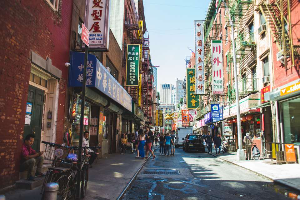 Chinatown in Manhattan, New York