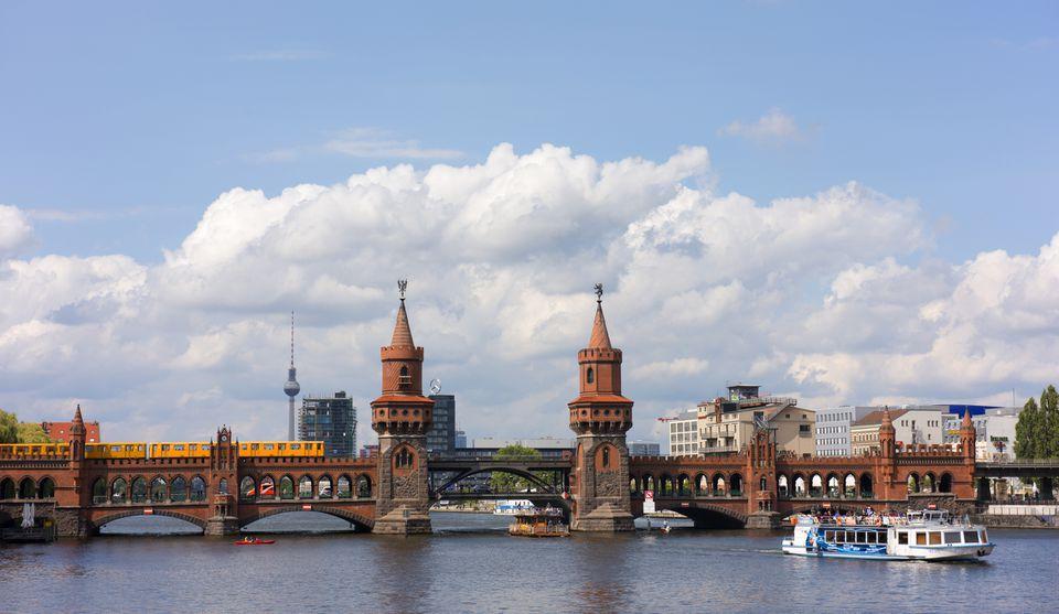 Berlin's Oberbaumbrücke