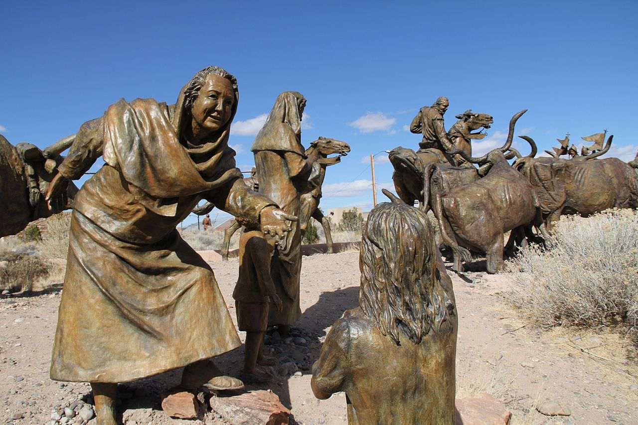 Albuquerque Museum sculptures, NM USA