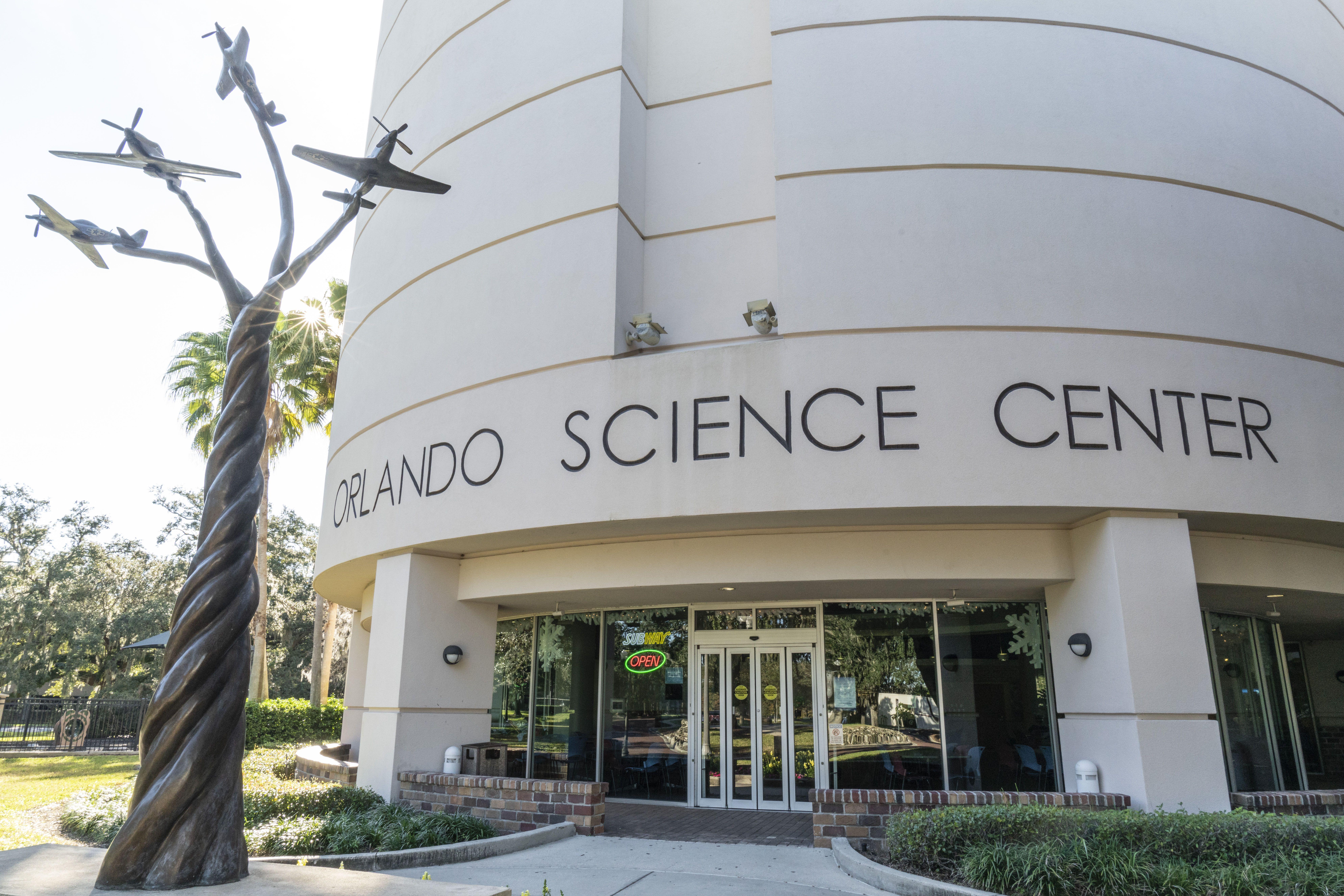Entrance to the Orlando Science Center
