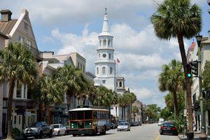 A Charleston DASH trolley