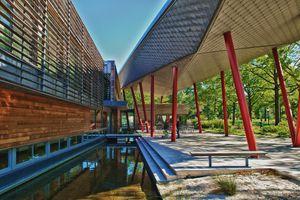 Queens Botanical Garden Visitor & Admin Building