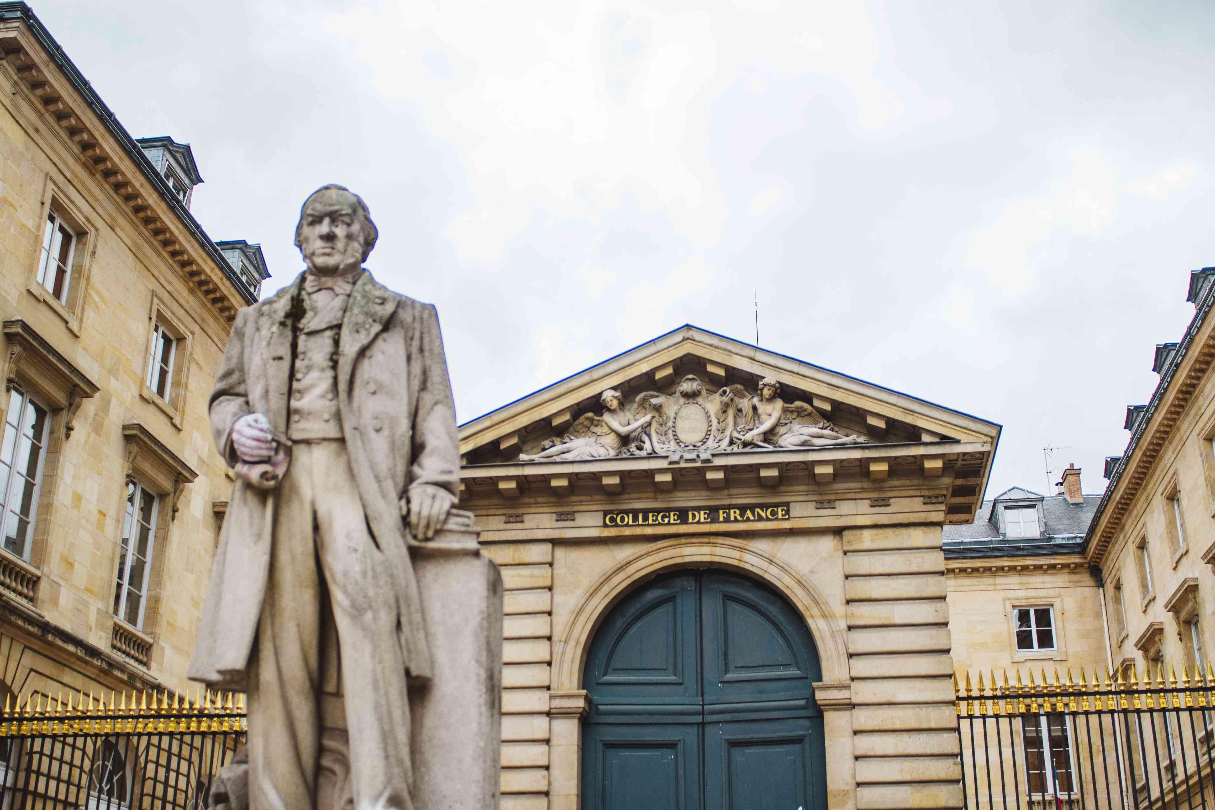 Exterior of College de France