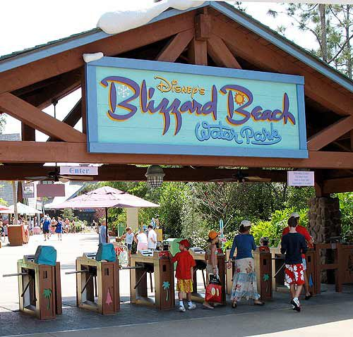 Blizzard Beach Water Park At Walt Disney World Florida